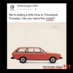 Volkswagen Facebook social media marketing fail