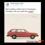 Volkswagen Facebook social media marketing fail