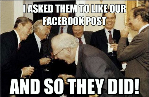 Facebook face book marketing fail meme photo