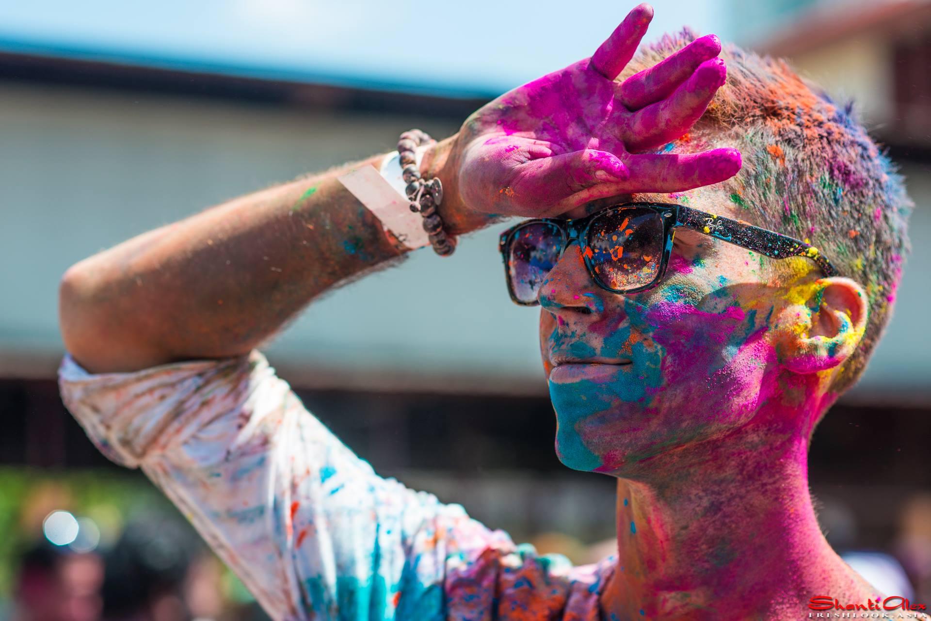Holi Festival of colours celebration in KL in 2014 photo #Holi