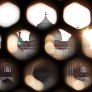 Guesthouse at Taj Mahal Agra India photo