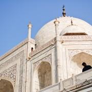 Taj Mahal mausoleum Agra India photo