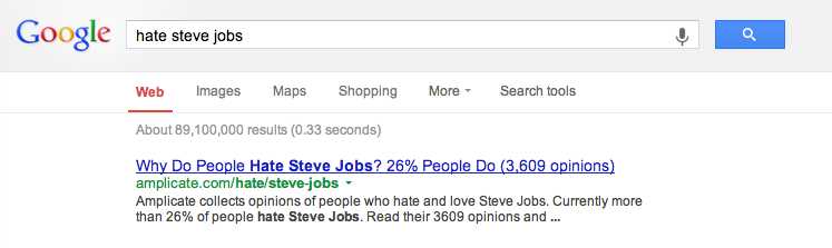 Reasons to hate Steve Jobs and Apple photo
