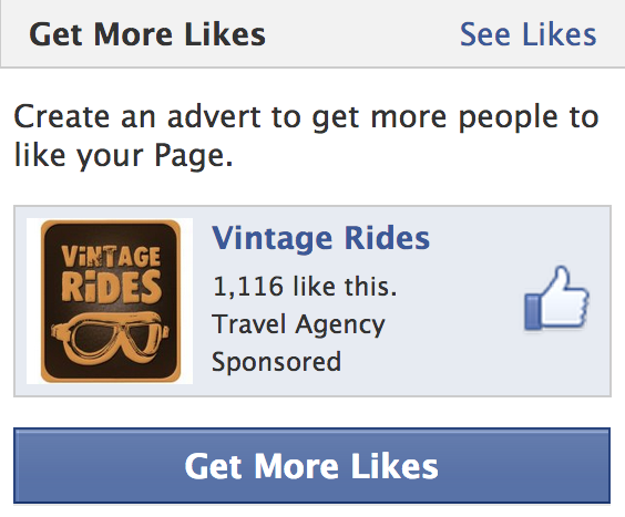 Facebook advertising - Get More Page Likes, Boost Page, Promoted Page Likes ads
