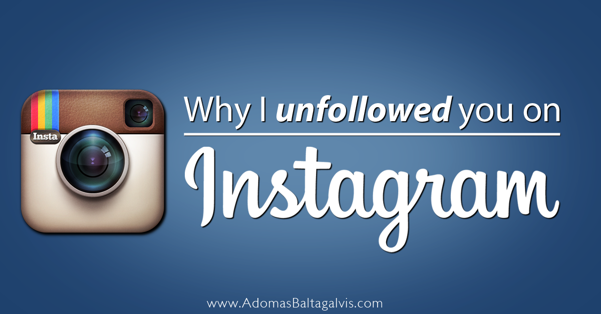 how to know if someone unfollow you on instagram