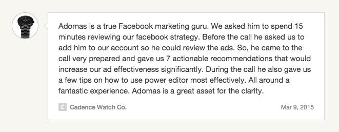 Adomas Baltagalvis - Facebook Marketing and Advertising Coach