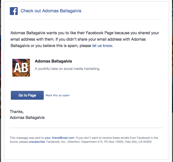 How to invite your email contacts to like your Facebook page with Import Contacts 2014