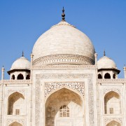 Taj Mahal mausoleum Agra India photo
