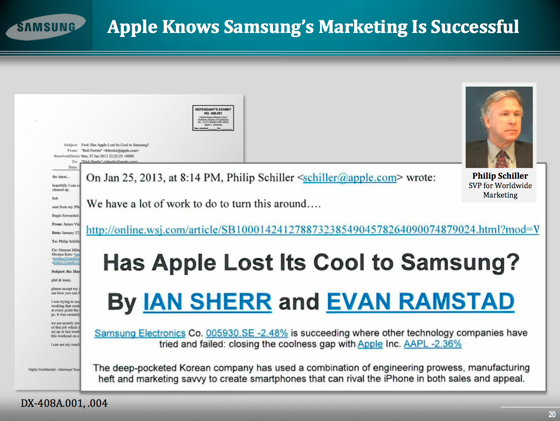 Has Apple Lost Its Cool To Samsung? Lawsuit