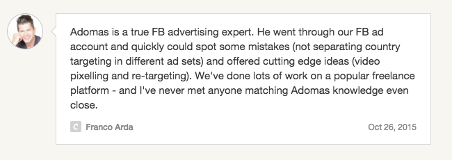Facebook advertising coaching services - how to improve FB ad campaigns