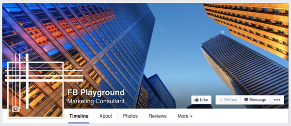 How To Create a Seamless Facebook Cover Photo and Profile Picture – Sample Facebook Timeline
