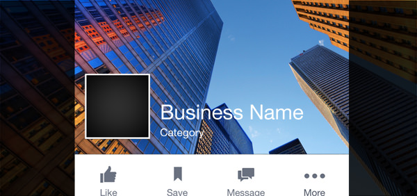 Template on how to optimise Facebook cover photo design for iPhone mobile devices   AdomasBaltagalvis.com #Facebook