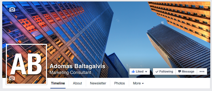 How to create a seamless Facebook cover photo and profile picture design for your page 2014