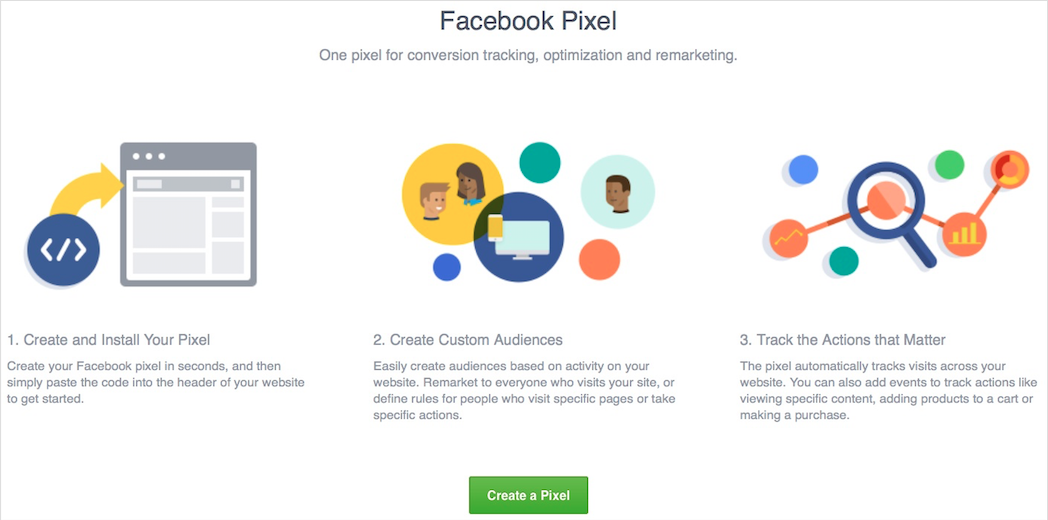 The new Facebook Pixel for conversion tracking, optimization and remarketing